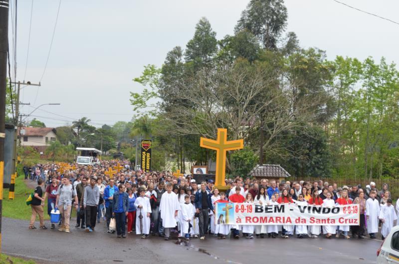 'Da cruz brotam a fé, a esperança e a caridade' é o tema do evento neste