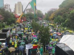 Santa-cruzenses também participam da mobilização em Porto Alegre
