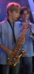 Aos 12 anos, Dalvan ganhou o primeiro saxofone