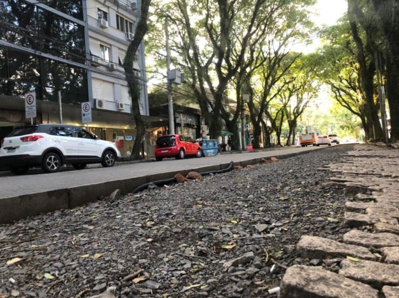 Retomada vai iniciar pelo trecho entre as ruas 28 de Setembro e Borges de Medeiros