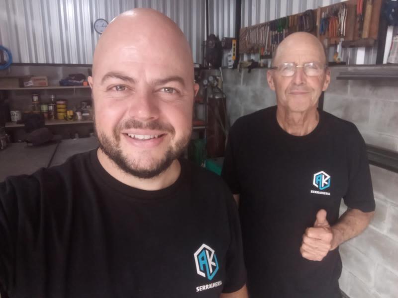Com a parceria e apoio do pai, André construiu o próprio empreendimento