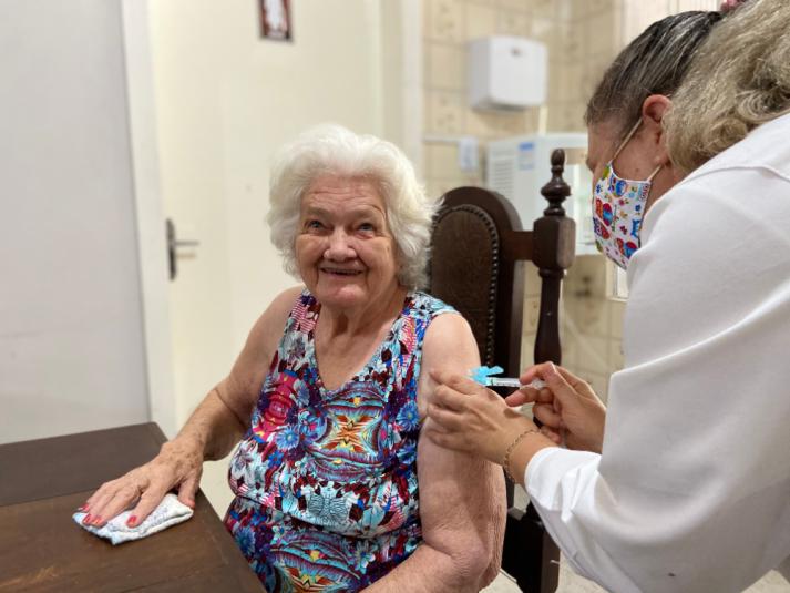Município receberá 210 doses exclusivas para a vacinação
