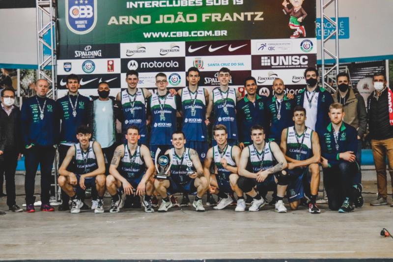 Equipe garantiu vaga na fase final do Campeonato Brasileiro Interclubes de Base Sub-19