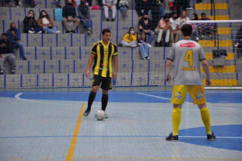 Jogo foi realizado no Ginásio Poliesportivo do Parque Municipal de Eventos, em Vera Cruz