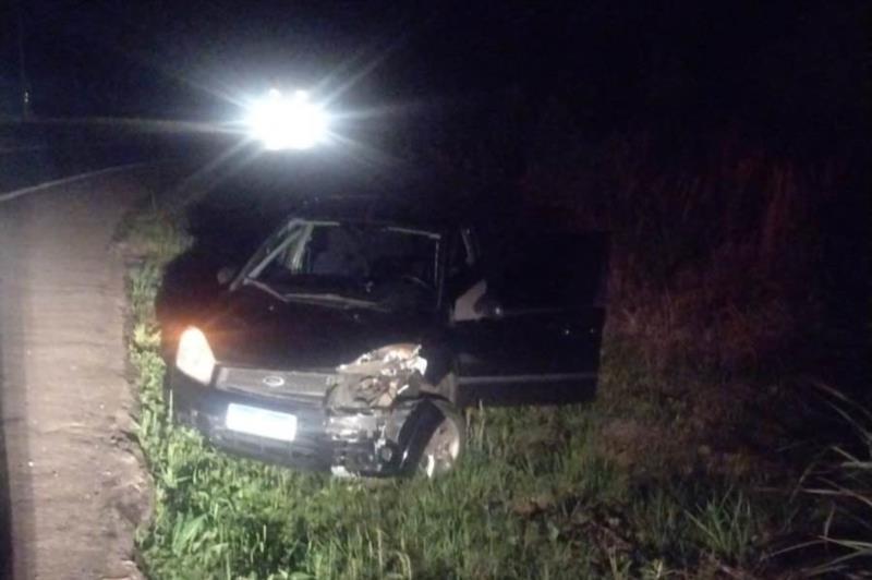 Comando Rodoviário da Brigada Militar ainda encontrou com o motorista cerca de R$ 28 mil sem procedência