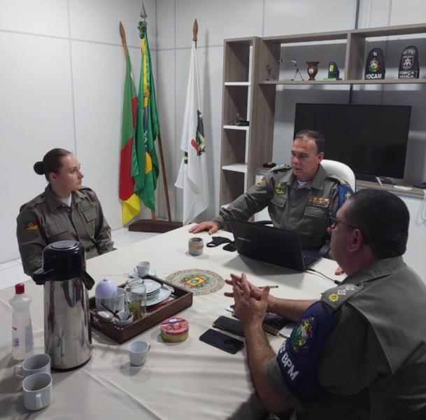Venâncio-airense foi apresentada na sede do 23° BPM