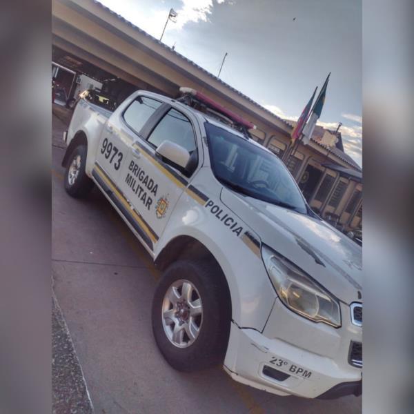 Conforme o policiamento, o indivíduo também é o principal suspeito de furtos no município