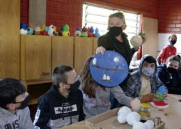 Após seleção para o programa Escolas Criativas, Hannemann realiza Dia D do Mão na Massa