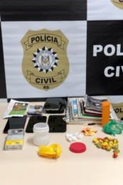 Operação contra facção prende quatro por tráfico de drogas