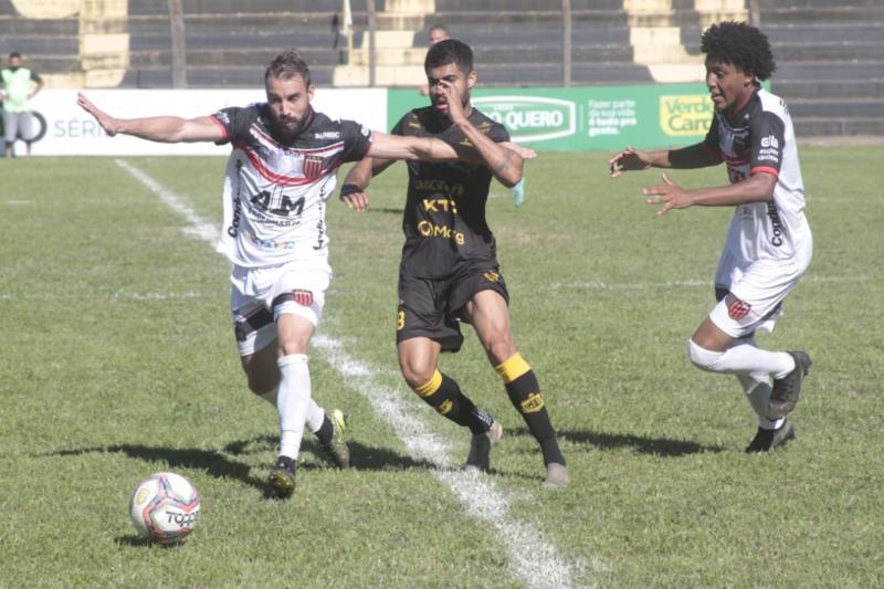 Guarani de Venâncio Aires empata com o Grêmio Bagé pela Divisão de Acesso