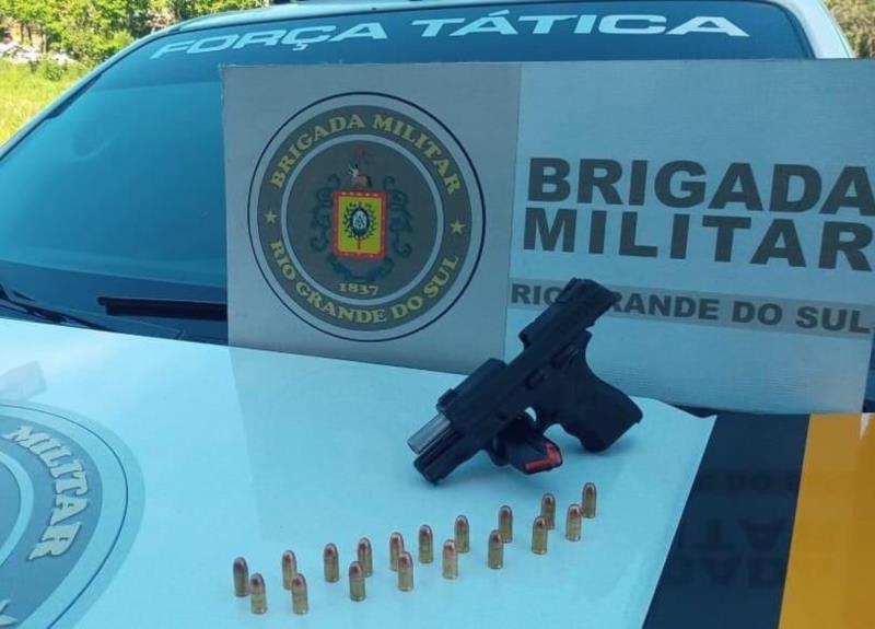 Homem é preso por porte ilegal de arma de fogo em Sobradinho