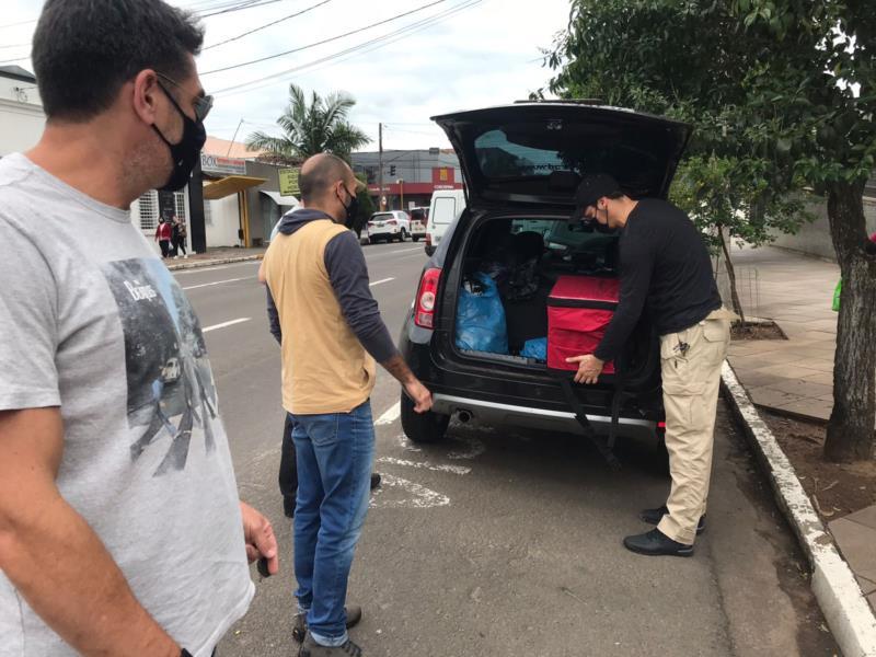 Drogas, munições e materiais do tráfico foram apreendidos em um apartamento no Bairro Avenida