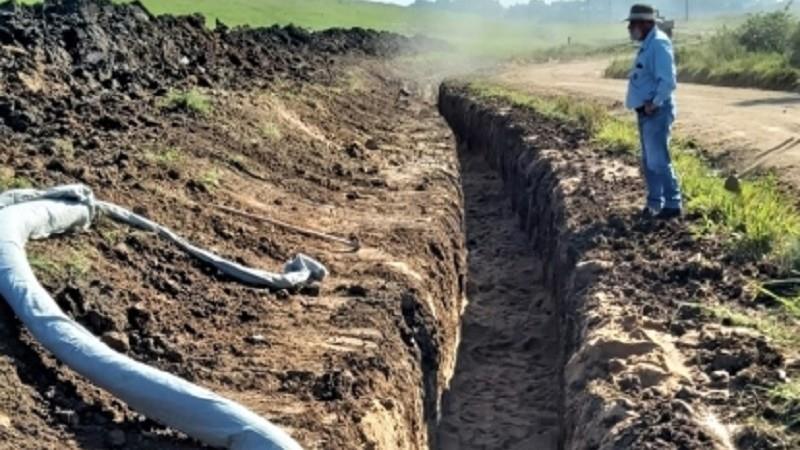 Com reparo será possível irrigar cerca de 2,5 mil hectares, beneficiando 40 lavouras de arroz