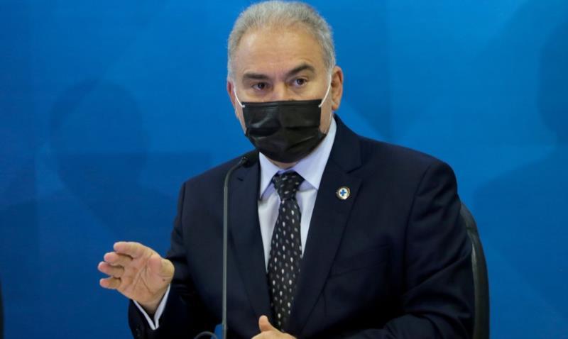 Informação foi confirmada pelo ministro Marcelo Queiroga