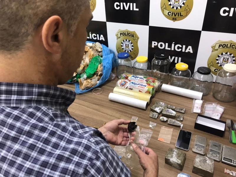 Nesta quarta-feira, Draco desmantelou esquema de tele-entrega de drogas no município