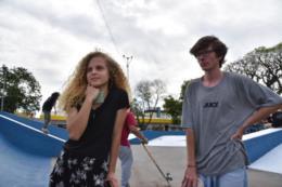 Casal Laura e Thiago veio de Venâncio Aires