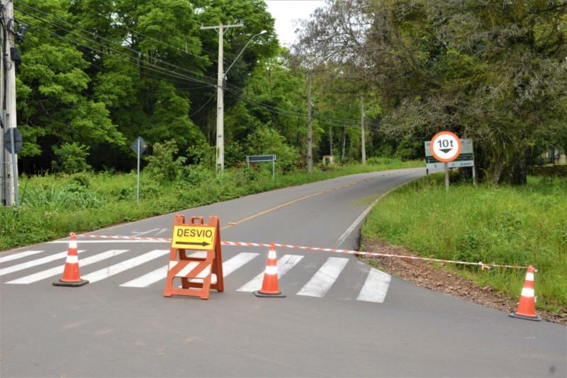 Segundo a Secretaria Municipal de Meio Ambiente, Saneamento e Sustentabilidade, bloqueio ocorre até a tarde