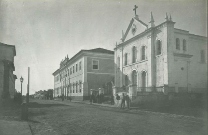 Ano: 1898 - Escola Militar e Igreja dos Passos