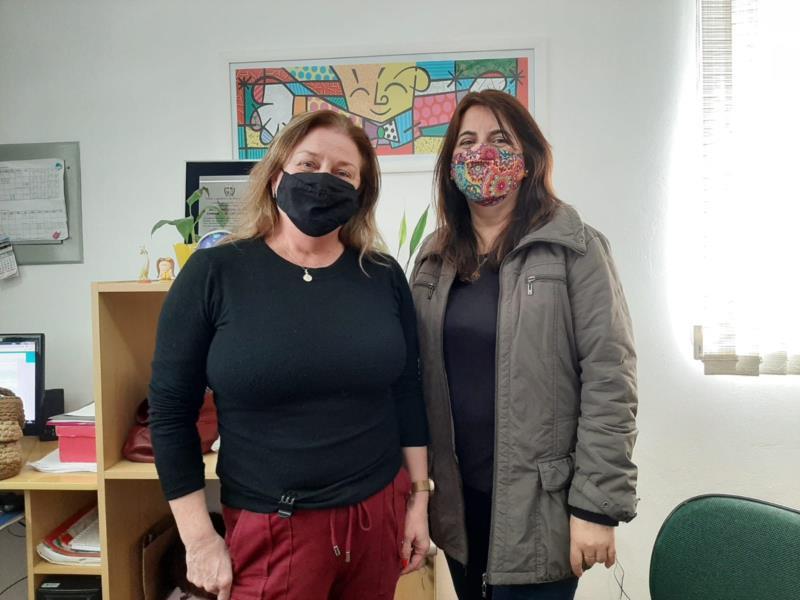 Elisabeth e Ana Patrícia destacam que a Escola Luiz Schroeder sempre teve um cuidado especial em relação à segurança das crianças