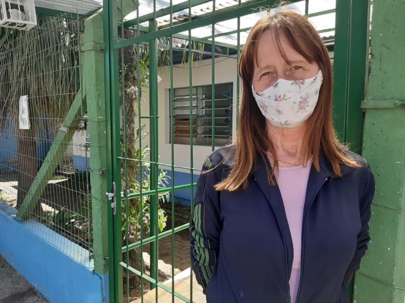 Sandra aprovou a nova lei em Santa Cruz