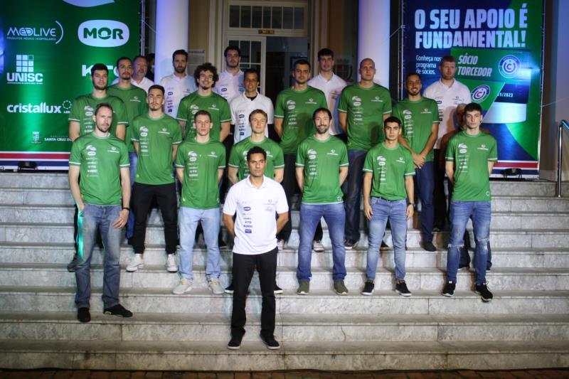 Estreia na competição será no dia 25 de outubro, contra o Minas Tênis Clube em Santa Cruz do Sul