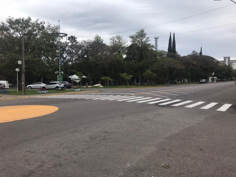 Ruas próximas ao parque sofrerão alterações no trânsito