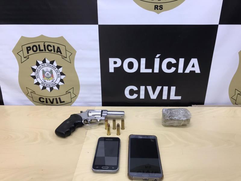 Ação da Polícia Civil aconteceu na manhã desta quinta-feira no Bairro Aliança