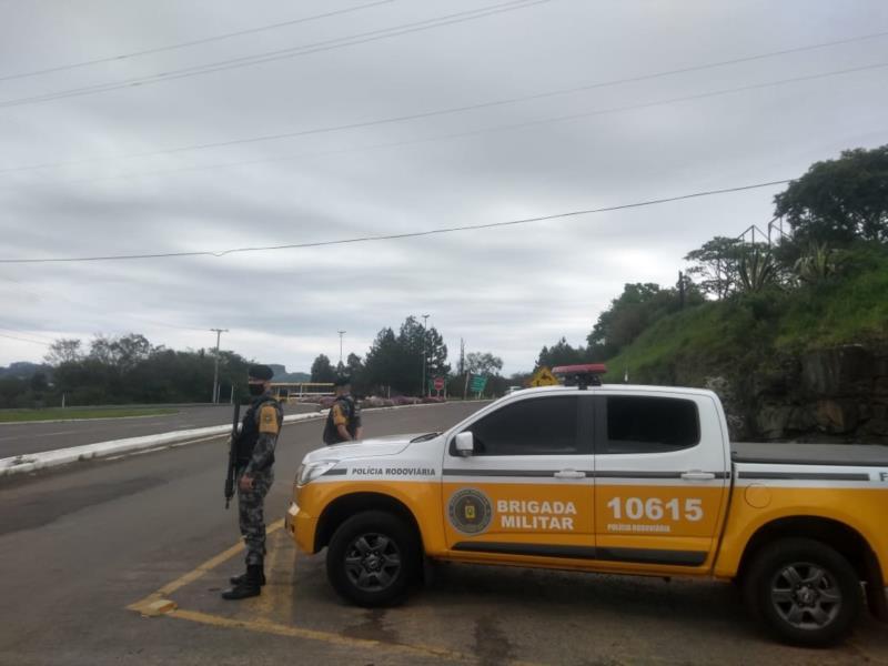 Policiais irão aumentar a fiscalização em pontos da RSC-287