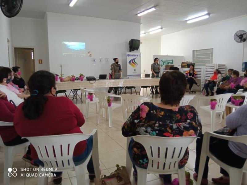Ação tem a parceria da Patrulha Comunitária do Interior em parceria com a Emater
