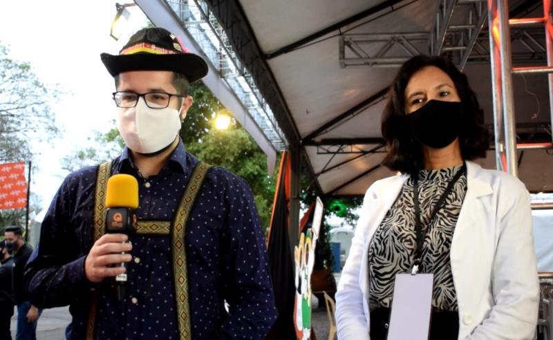 Programa é produzido pelo Portal Arauto e transmitido ao vivo de dentro do Parque