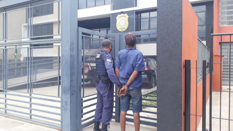 Homem foi preso pela Guarda Municipal