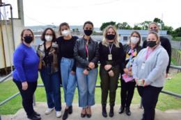 Apenadas de Santa Cruz recebem oficina para confecção de bioabsorventes