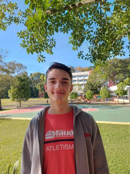 Eduardo ficou com o bronze na competição nacional