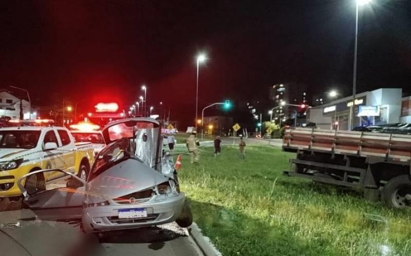 Mãe e filha morreram na colisão