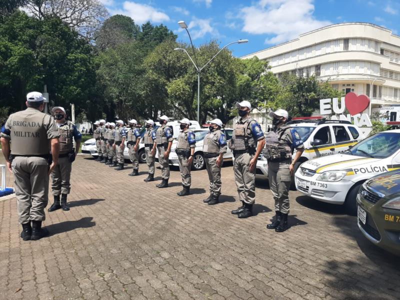 Brigada Militar deflagra Operação Visibilidade Presença Policial no Vale do Rio Pardo