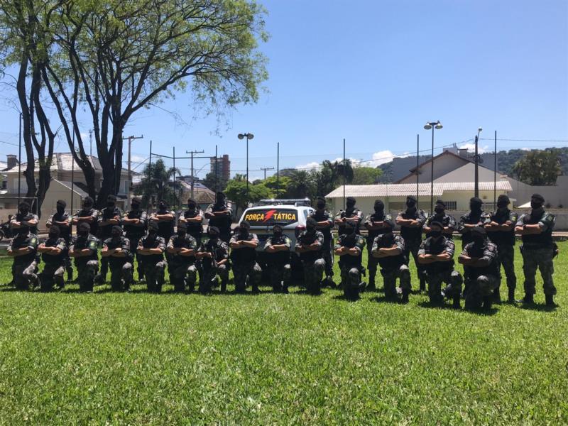 Brigada Militar do Vale do Rio Pardo recebe treinamento de Atendimento Pré-hospitalar de Combate